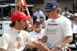 Darren Manning and Buddy Rice