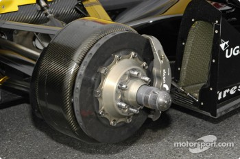 Dallara right rear brake