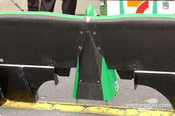 Front wing for a one mile