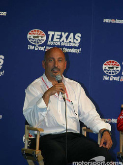 Stars of karting press conference: Bobby Rahal