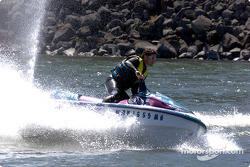 Columbia River Gorge: Alexandre Tagliani on a jetski