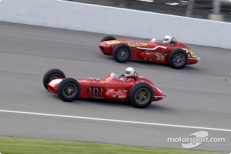 Historic Champ cars showcase: a pair of Watson Roadster