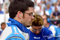 Patrick Carpentier before the race