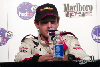 Press conference: race winner Cristiano da Matta