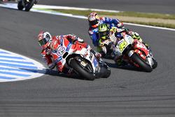 Andrea Dovizioso, Ducati Team; Cal Crutchlow, Team LCR, Honda