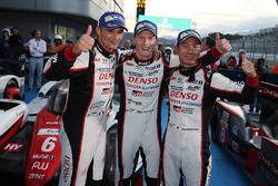 1. #6 Toyota Racing, Toyota TS050 Hybrid: Stéphane Sarrazin, Mike Conway, Kamui Kobayashi