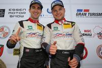 VLN Photos - Podium: Connor de Phillippi, Christopher Mies, Land Motorsport, Audi R8 LMS
