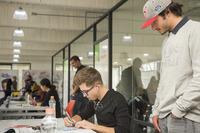 Formula 1 Foto - Carlos Sainz Jr., Scuderia Toro Rosso durante la Red Bull Doodle Art all'UNAM