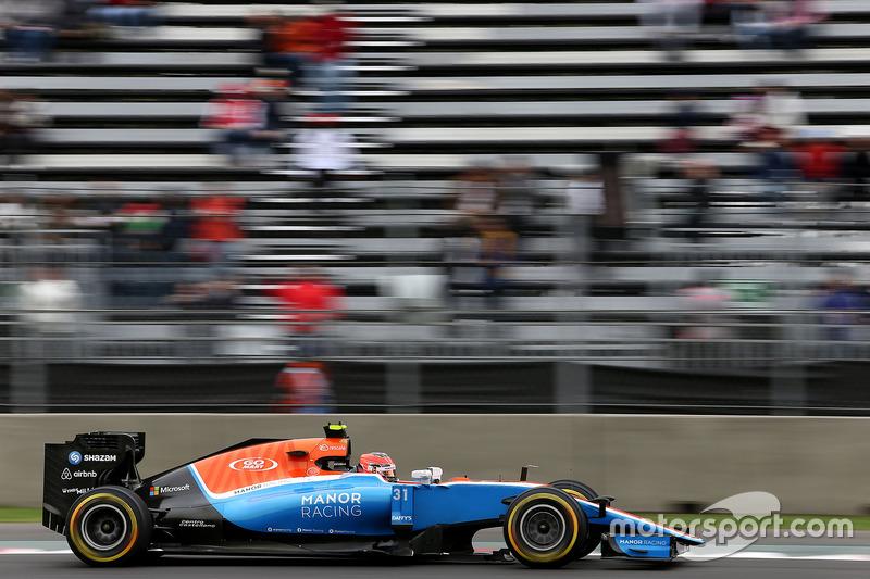 20. Esteban Ocon, Manor Racing