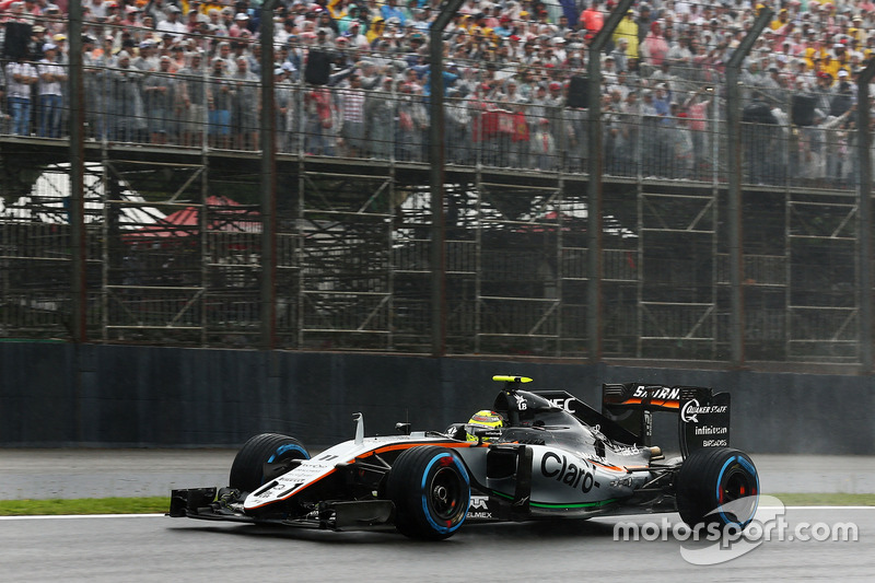 4. Sergio Perez, Sahara Force India F1 VJM09