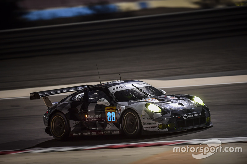 1. LMGTE-Am: #88 Proton Racing, Porsche 911 RSR: Khaled Al Qubaisi, David Heinemeier Hansson, Patrick Long
