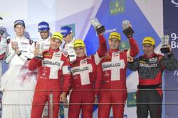 LMP1-L-Podium: 1. #13 Rebellion Racing, Rebellion R-One AER: Matheo Tuscher, Dominik Kraihamer, Alexandre Imperatori