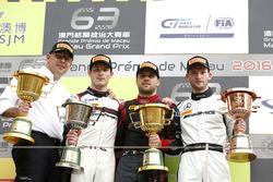 Podium: 1. Laurens Vanthoor, Audi Sport Team WRT, Audi R8 LMS; 2. Kévin Estre, Manthey Racing, Porsche 911 GT3-R; 3. Maro Engel, Mercedes-AMG Driving Academy, Mercedes-AMG GT3