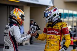 Artem Markelov, RUSSIAN TIME; 2016 GP2 Series Vizemeister Antonio Giovinazzi, PREMA Racing