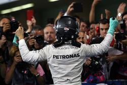 Nico Rosberg, Mercedes AMG F1 feiert seinen WM-Titel im Parc Ferme