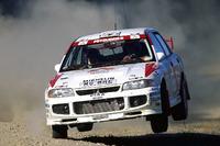 WRC Fotos - Tommi Makinen, Seppo Harjanne, Ralliart Mitsubishi Lancer Evo3