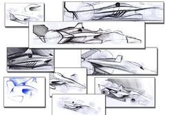 Aerokit da Indy para 2018