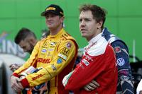 Ryan Hunter-Reay and Sebastian Vettel