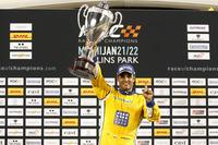 Подіум: переможець гонки Хуан Пабло Монтойя