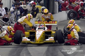 Pitstop for Jimmy Vasser