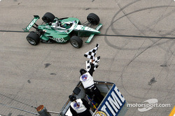 Paul Tracy winning the Miller Lite 250