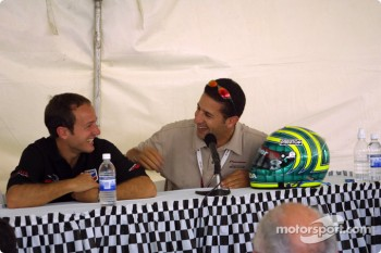 Cristiano da Matta and Tony Kanaan