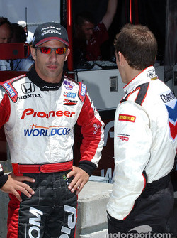 Tony Kanaan and Cristiano da Matta
