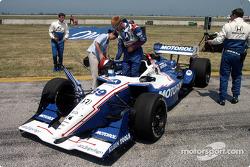 Michael Andretti's Motorola car