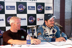 Press conference: Paul Tracy and Patrick Carpentier