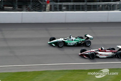 Paul Tracy and Tony Kanaan