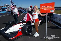 Sébastien's grid girl
