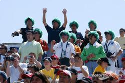 Monterrey fans