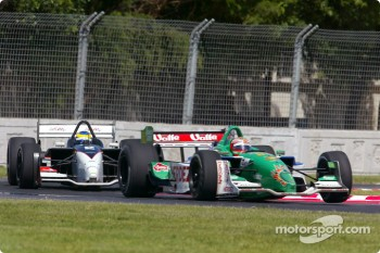 Sébastien Bourdais and Mario Dominguez