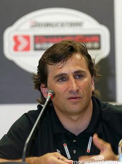 Press conference: Alex Zanardi