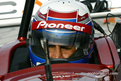 Alex Zanardi back behind the wheel of a Champ car