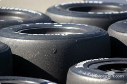 Bridgestone tires ready to go