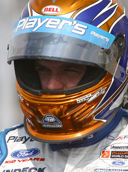 Patrick Carpentier gets ready