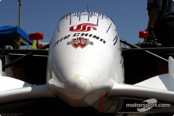 Walker Racing car nose cone