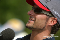 Rocketsports-Tagliani karting event: TV interviews for Alex Tagliani