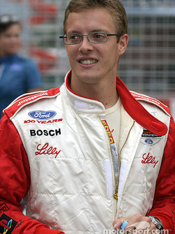 Sébastien Bourdais on the starting grid