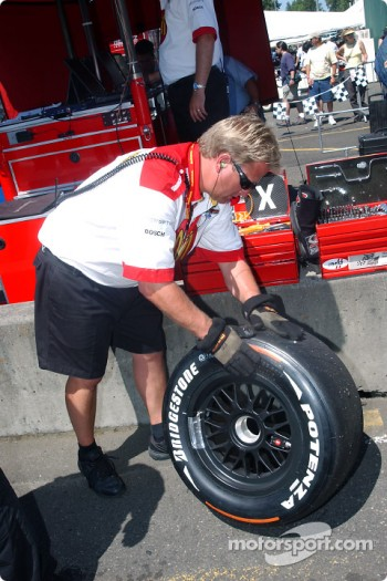 Bridgestone alternate tire