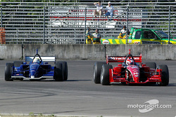 Jimmy Vasser and Alex Tagliani