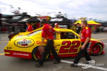 Car of Kurt Busch, Penske Racing Dodge
