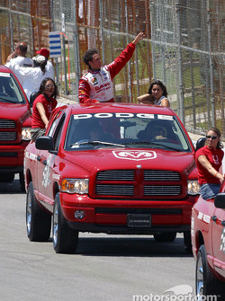 Drivers parade: Michel Jourdain Jr.