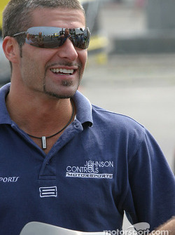 Alex Tagliani talks about his airplane incident