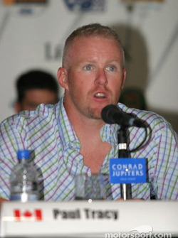 Pre-weekend press conference: Paul Tracy