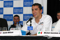 Pre-weekend press conference: Justin Wilson