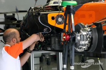 Force India F1 Team mechanic