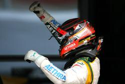 Race winner Jules Bianchi, Lotus ART
