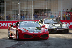#3 Ferrari of Ft. Lauderdale Ferrari F430 Challenge: Francesco Piovanetti, #31 Ferrari of Ontario Ferrari F430 Challenge: Damon Ockey